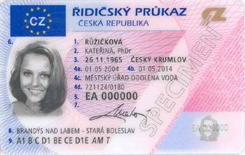 Driving license for foreigners in the Czech Republic