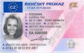 získání řidičského průkazu cizincem